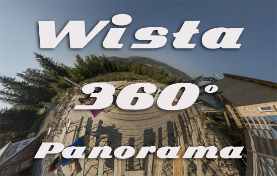 Wisła, Beskidy - panorama 360