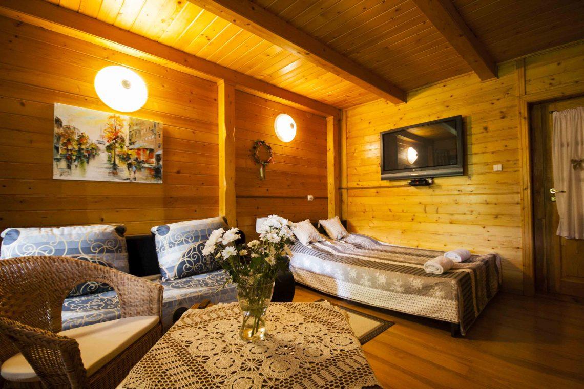 Pokój komfortowy 2-4 osobowy z balkonem