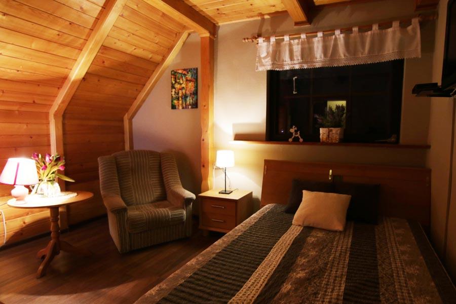 Pokój w pensjonacie w górach